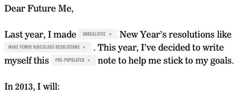 new years up letter letter to yourself an automatic new year s resolution