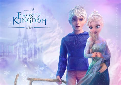 film elsa and jack frost elsa and jack frost frosty kingdom by cylonka on deviantart