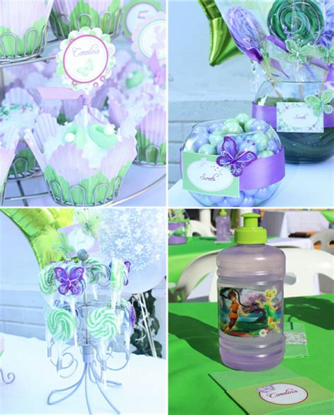 free printable tinkerbell party decorations pixie fairy party ideas tinker bell inspired birthday