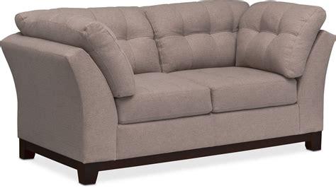 sebring coffeebean sofa loveseat sebring sofa and loveseat set smoke value city furniture