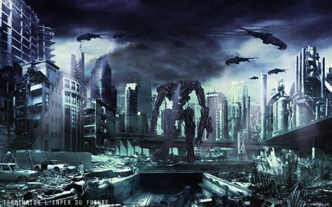 terminator background sci fi wallpaper wallpapersafari