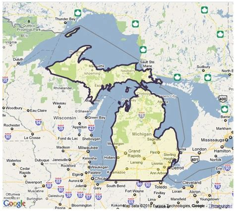 parks in michigan map of michigan state parks afputra