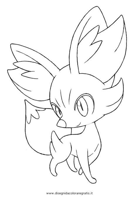 pokemon coloring pages fennekin pokemon fennekin coloring pages sketch coloring page
