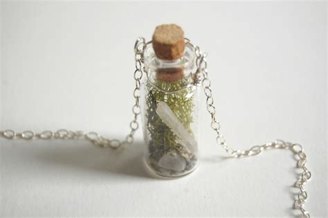 Terrarium Jewelry by Tiny Terrarium Necklace 183 How To Make A Vial 183 Jewelry