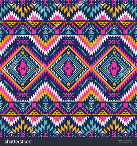 navajo pattern vector free multicolor tribal vector seamless navajo pattern stock