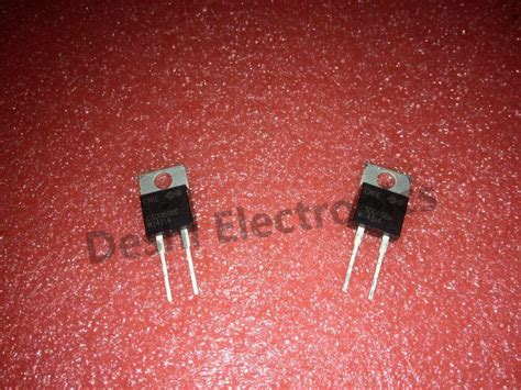 schottky diode of silicon carbide 10pcs c3d06060a c3d06060 600v 6a silicon carbide schottky diode cree to 220ac ebay