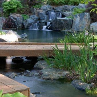 backyard stream construction garden stream design construction water feature consultant teich pinterest