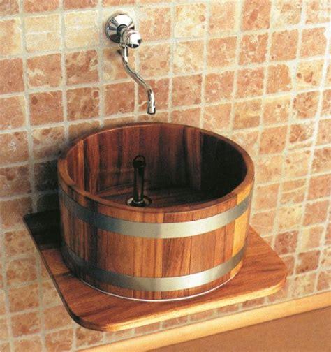 Waschbecken Auf Holz by Holz Waschbecken Und Waschtische