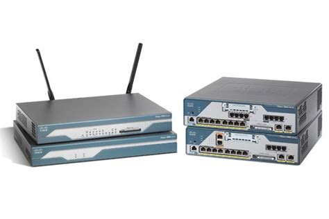 Router Cisco 1800 Series Cisco 1800 Series Integrated Services Routers Cisco