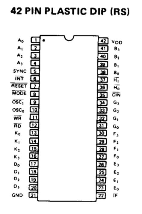 Transistor M1661s m5840 datasheet cmos 4 bit microcontroller oki
