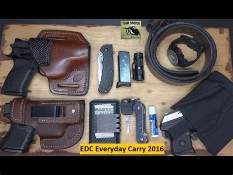 everyday concealed carry edc or everyday carry 2016