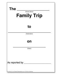 trip diary template manuscript copywork simply
