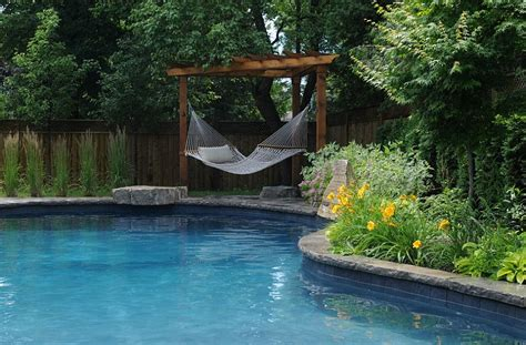 Hammock Pool summer spirit 25 cool outdoor hangouts with a hammock