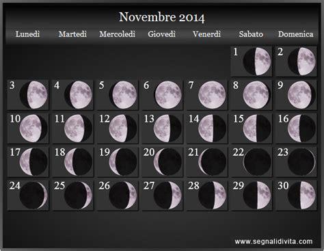 calendario lunare  fasi lunari