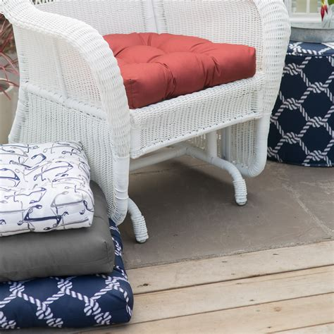 coral coast classic wicker chair outdoor cushion