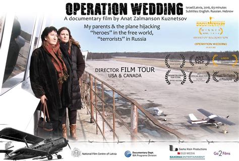watak tokoh film operation wedding operation wedding nachum and filmmaker anat zalmanson