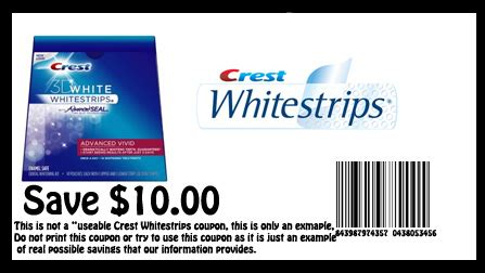 crest whitening strips coupon  birthday deals twin
