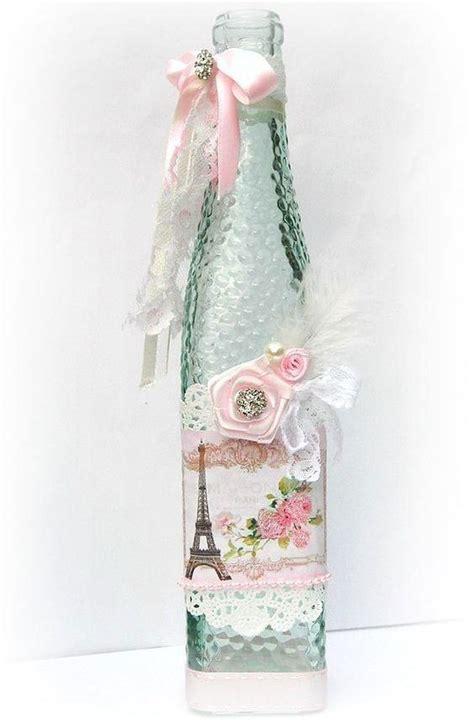 decorar garrafas de vidro renda 80 garrafas decoradas renda ba 218 das dicas