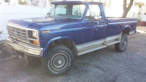 ford f350 4x4 for sale 1986 ford f350 4x4 diesel no reserve