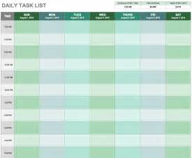 Monthly Task List Template by 15 Free Task List Templates Smartsheet