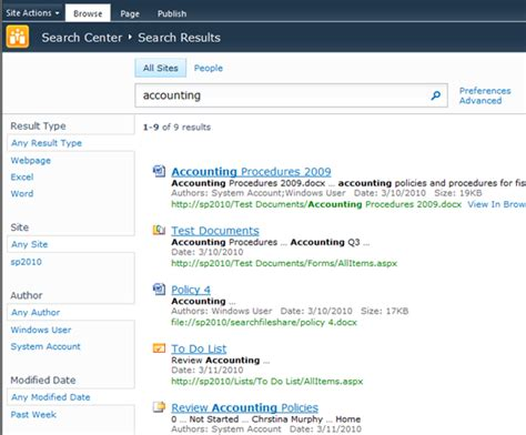 Sharepoint 2010 Search Get To The Refinement Web Part In Sharepoint 2010 Enterprise Search Corey Roth