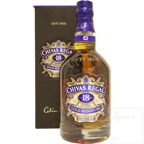 regal gold chivas regal gold signature aged 18 years
