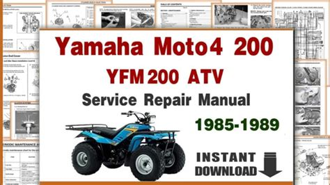 service manual where to buy car manuals 1989 pontiac grand am interior lighting 1989 pontiac yamaha moto 4 200 yfm200 service repair manual 1985 to 1989 youtube