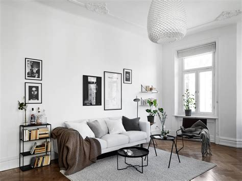 scandinavian livingroom black and white scandinavian living room living room scandinavian living