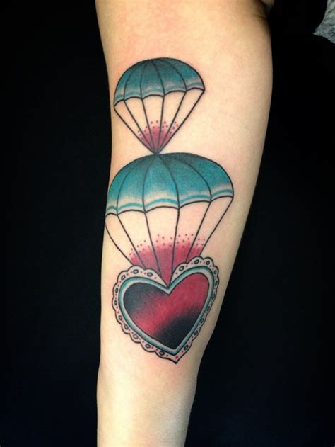 parachute tattoo 14 parachute designs ideas design trends