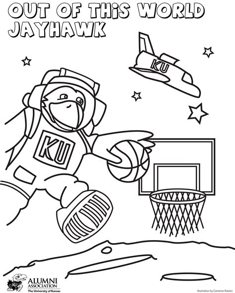 ku coloring pages coloring home