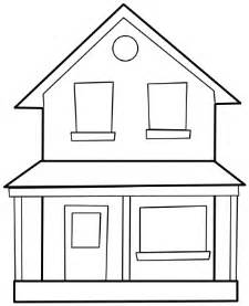 House From Up Outline by House Two Story Lineart Buildings Homes Homes 4 House Two Story Lineart Png Html