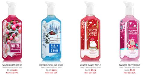 Shower Gel Bath And Body Works bath amp body works after christmas sale up to 75 off