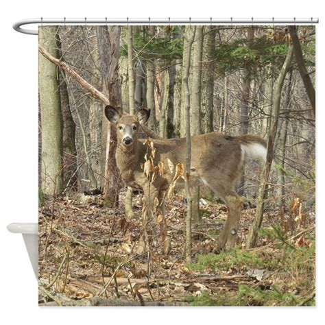 whitetail deer curtains whitetail deer shower curtain by naturewildlifeartgifts