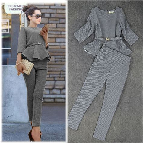top 15 casual everyday wear appropriate pantsuits 2015 new 2015 spring fashion women s business pants suits