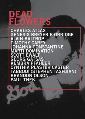 dead roses books dead flowers artbook d a p 2011 catalog vox populi