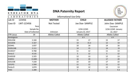 test dna endeavor paternity dna test dna test review