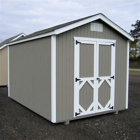 10x10 Shed Kit by Cottage 8 X 10 Ft Classic Wood Gable Panelized