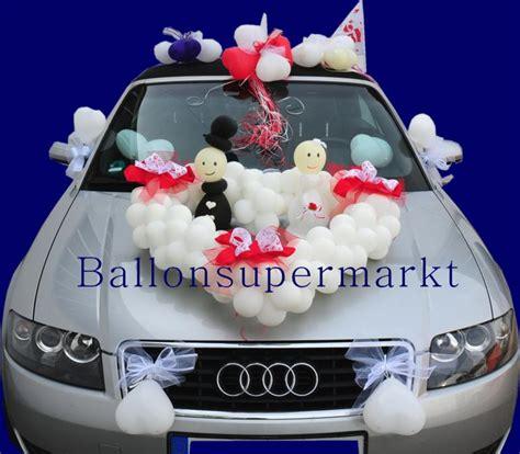Autodekoration Hochzeit autodeko hochzeit luftballons hochzeit