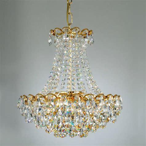 kronleuchter 24 karat vergoldet joska kronleuchter mit bleikristallbehang und 24 karat