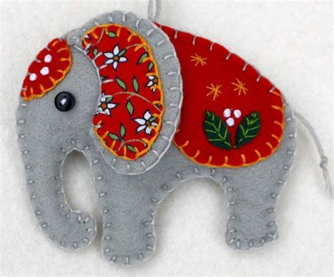 Handmade Felt Ornaments - 1120 best images about felt and fabric