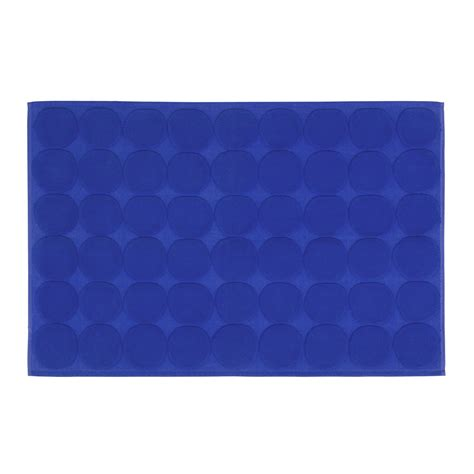 Blue Bath Mat by Marimekko Kivet Blue Bath Mat Marimekko Bathmats
