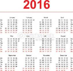 Calendar 2018 Week No Calendar 2016 With No Of Weeks Blank Calendar Design 2017