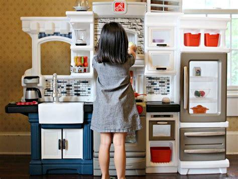 Subway Tile Backsplash kids rainbow sushi recipes step2 grand luxe kitchen