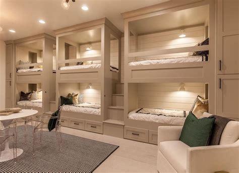 Beige bedroom with bunk beds beige paint 19 beautiful rooms bob vila