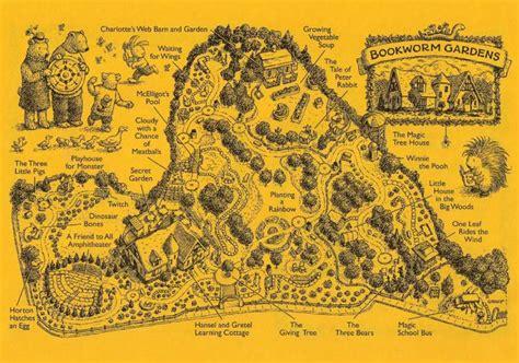 Bookworm Garden by Cool Bookish Places Bookworm Gardens