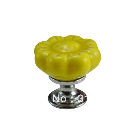 Discount Knobs Style Flower Ceramic Knob Wholesale And Retail