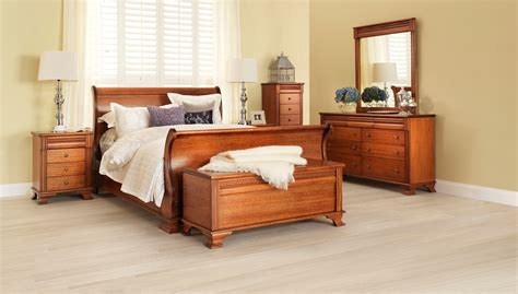 monet classic light wood grain bedroom furniture suite