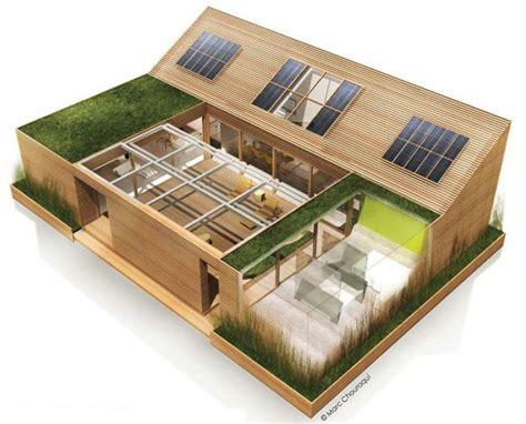 Plan Maison Patio Central