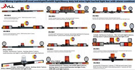 led strobe lights for work trucks mine work light bar led mining strobe light bar safety