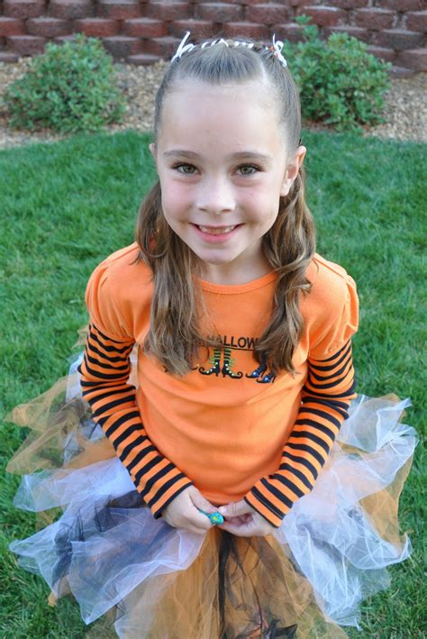 onionib little girl princess piggies halloween hairdos candy corn